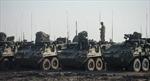 Sputnik: Xe quân sự Mỹ tiến vào Ukraine