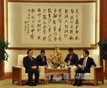 Phó Thủ tướng Hoàng Trung Hải hội kiến Phó Chủ tịch Trung Quốc