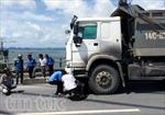 Ô tô kéo lê xe máy, 2 nạn nhân tử vong tại chỗ