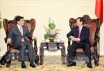 Thủ tướng tiếp Thứ trưởng Bộ Chiến lược và Tài chính Hàn Quốc