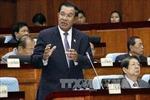 Điện mừng Chủ tịch Đảng Nhân dân Campuchia