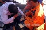 Ngạt khí trong hầm tàu cá trên biển, 1 người tử vong