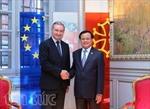 Bí thư Hà Nội Phạm Quang Nghị thăm và làm việc tại Pháp