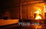 Cháy suốt đêm tại KCN Nhơn Trạch - Đồng Nai