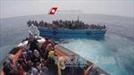Cứu gần 3.000 người di cư trên biển Địa Trung Hải