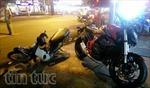 Xe phân khối lớn đâm xe máy, 1 người nguy kịch