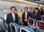 Thủ tướng dự Lễ ra mắt tàu bay thế hệ mới Airbus 350-900