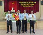Bầu Phó Chủ tịch HĐND tỉnh Đồng Tháp
