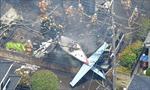 Máy bay đâm vào nhà dân ở Nhật Bản