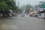 Mưa lớn kéo dài khiến giao thông Quảng Ninh ngưng trệ
