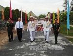 An táng hài cốt quân tình nguyện Việt Nam hy sinh tại Campuchia