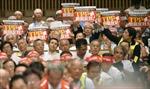 Lo TPP, nông dân Nhật Bản tuần hành rầm rộ