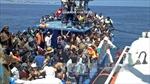 Italy cứu sống 500 người di cư trên Địa Trung Hải