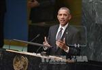 Ông Obama đề cập hàng loạt vấn đề của thế giới trước LHQ