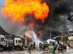 Thêm một vụ nổ nhà máy hóa chất ở Trung Quốc