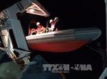 Bình Định khẩn trương cứu nạn tàu cá trôi dạt trên biển