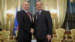 Tổng thống Pháp tới Nga thúc đẩy thành lập liên minh chống IS