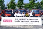 FUSO bàn giao 30 xe tải Canter cho Công ty Nguyễn Ngọc