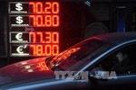 Đồng ruble Nga mất giá mạnh