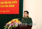 Quân ủy Trung ương gặp mặt đại biểu Quân đội dự Đại hội Đảng XII