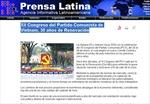 Truyền thông Cuba đưa tin đậm nét về Đại hội Đảng XII