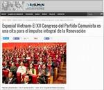 Báo chí Argentina đưa tin đậm nét về Đại hội