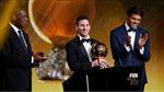 """Messi - """"Thương hiệu"""" của Quả bóng Vàng FIFA"""