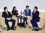 Thủ tướng Nguyễn Tấn Dũng gặp Thủ tướng Thái Lan