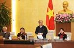 Thông cáo phiên họp thứ 45 của Ủy ban Thường vụ Quốc hội khóa XIII
