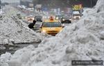 Tuyết rơi giữa mùa Xuân làm tê liệt Moskva