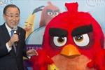"""LHQ """"bổ nhiệm"""" chim Angry Bird làm đại sứ danh dự"""