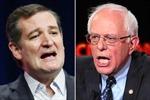 Ông Ted Cruz và Bernie Sanders thắng tại Wisconsin