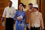 Bà San Suu Kyi làm Cố vấn nhà nước Myanmar