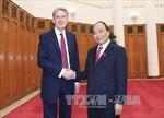Thủ tướng Nguyễn Xuân Phúc tiếp Ngoại trưởng Anh