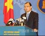 Yêu cầu Đài Loan chấm dứt các hoạt động xâm phạm chủ quyền Việt Nam