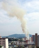 Cháy nổ tại căn cứ 28.000 quân Mỹ ở Hàn Quốc