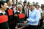 Đồng chí Nguyễn Thiện Nhân làm việc tại tỉnh Gia Lai