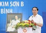 Chủ tịch nước dự khánh thành trường học tại Ninh Bình
