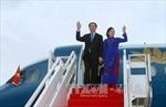 Chủ tịch nước và Phu nhân thăm cấp Nhà nước tới Brunei Darussalam