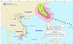 Chiều tối và đêm nay siêu bão Meranti sẽ đi vào Biển Đông