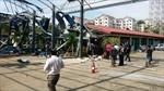 Trực thăng quân sự Malaysia rơi trúng trường học