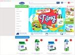 Vinamilk ra mắt website thương mại điện tử