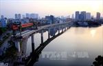 Hợp long phiến dầm cuối của đường sắt đô thị Cát Linh-Hà Đông
