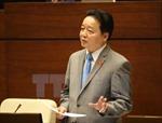 Bộ trưởng Bộ Tài nguyên và Môi trường đã thể hiện rõ trách nhiệm quản lý ngành