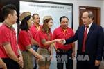 Chủ tịch Mặt trận Tổ quốc thăm Công ty Cổ phần Hàng không Vietjet