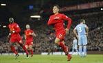 Liverpool trở lại vị trí thứ hai