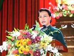 Chủ tịch Quốc hội Nguyễn Thị Kim Ngân dự Lễ kỷ niệm 20 năm tái lập tỉnh Cà Mau