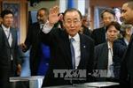 Về Hàn Quốc, ông Ban Ki-moon vẫn chưa quyết định tương lai chính trị