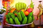 Mâm ngũ quả - nét đặc trưng của Tết Việt
