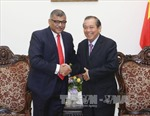 Phó Thủ tướng Trương Hòa Bình tiếp Chánh án Tòa án tối cao Singapore
